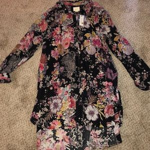 Maeve Anthropologie Tunic Dress size XL